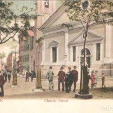 Postales: GIBRALTAR CHURCH STREET. Lote 104306895