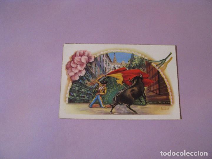 ANTIGUA POSTAL DE ILUSTR. E/TELA. ED. RAM. SERIE 107/E. SEVILLA, PATIO DE BANDERA. SIN CIRCULAR. (Postales - España - Andalucía Antigua (hasta 1939))