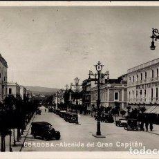 Postales: CORDOBA ANTIGUA POSTAL AVENIDA DEL GRAN CAPITAN 1932. Lote 104326951