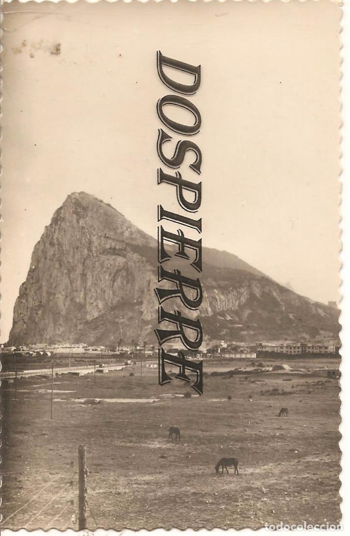 POSTAL, ALGECIRAS-CADIZ, PEÑÓN DE GIBRALTAR, ED. AISA , SIN CIRCULAR (Postales - España - Andalucia Moderna (desde 1.940))