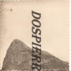 Postales: POSTAL, ALGECIRAS-CADIZ, PEÑÓN DE GIBRALTAR, ED. AISA , SIN CIRCULAR. Lote 104350095