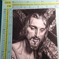 Postales: POSTAL DE MÁLAGA. RELIGIOSA SEMANA SANTA. AÑO 1969. DULCE NOMBRE JESÚS NAZARENO DEL PASO. 1304. Lote 104408835