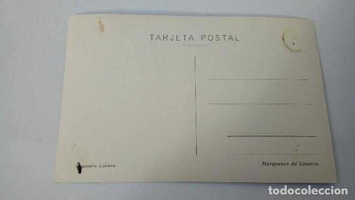 Postales: POSTAL DE LINARES ANTIGUA PAPELERIA LUCENA MARQUESES DE LINARES - Foto 2 - 104762279