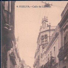 POSTAL HUELVA 4 - CALLE DE CASTELAR - PAPELERIA INGLESA