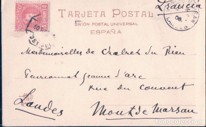 Postales: POSTAL ALAJAR - HUELVA - PEÑA DE LOS ANGELES - 7. VIUDA DE RAFAEL FRANCO - CIRCULADA - SIN DIVIDIR - Foto 2 - 104772331