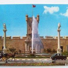 Postales: POSTAL DE CADIZ, PUERTA DE TIERRA, N 1140. Lote 104886707