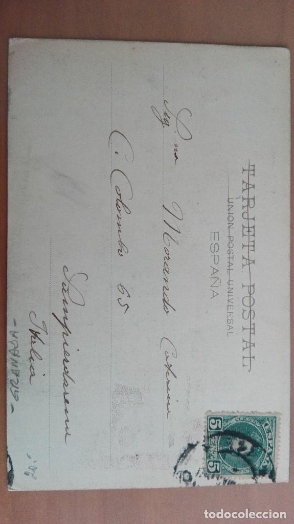 Postales: POSTAL COLECCION CANOVAS SERIE A 8 JAYENA GRANADA LAVADERO PUBLICO HAUSER Y MENET ANDALUCIA - Foto 2 - 104942103