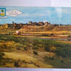 Postales: NIEBLA. VISTA GENERAL DE LAS MURALLAS Y PUEBLO. PROVINCIA DE HUELVA.. Lote 105004136
