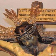 Postales: SEMANA SANTA ROTA (CÁDIZ) HERMANDAD VERACRUZ CRISTO. Lote 105126443