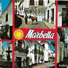 Postales: MARBELLA, VARIOS ASPECTOS - POSTALES COSTA DEL SOL 1662 - CIRCULADA. Lote 105373395