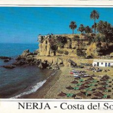 Postales: NERJA, PLAYA DE CALAHONDA, BALCON DE EUROPA - ESCUDO DE ORO Nº 25 - S/C. Lote 105476427