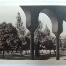 Postales: CÓRDOBA MEZQUITA CATEDRAL CLAUSTRO DEL PATIO DE LOS NARANJOS EDICIONES GARCIA GARRABELLA. Lote 105658012