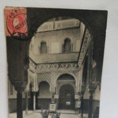Postales: PATIO DE MUÑECAS (ALCAZAR). SEVILLA, CIRCULADA 1905. STENGEL AND CO. 1905. Lote 105906443