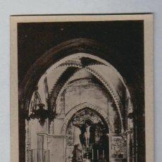 Postales: HUELVA.CONVENTO DE LA RÁBIDA.IGLESIA PREBISTERIO, SIGLO XIV.Nº 5.. Lote 106084187