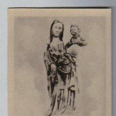 Postales: HUELVA.CONVENTO DE LA RÁBIDA.IMAGEN DE SANTA MARÍA DE LA RÁBIDA, SIGLO XIV.Nº 6. Lote 106084411