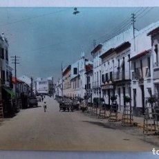 Postales: POSTAL PUENTE GENIL, AVDA MANUEL REINA. Lote 107210387