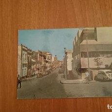 Postales: POSTAL MORON DE LA FRONTERA CALLE GENERAL FRANCO SIN CIRCULAR. Lote 107266411