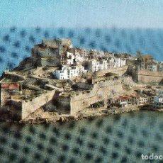 Postales: PEÑISCOLA CASTELLON VISTA AEREA . Lote 107361203