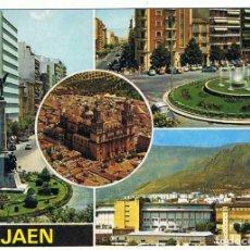 Postales: POSTAL DE JAÉN. DIVERSOS ASPECTOS. ED. SUBIRATS CASANOVAS. ESCRITA AL DORSO. Lote 107703739