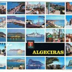 Postales: POSTAL DE ALGECIRAS, CÁDIZ. DIFERENTES ASPECTOS. ED. SUBIRATS CASANOVAS. Lote 107704907