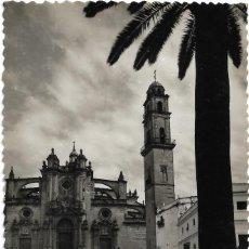 Postales: JEREZ DE LA FRONTERA Nº 9 .- IGLESIA DE SAN MIGUEL .- FACHADA PRINCIPAL .- EDICIONES SICILIA . Lote 107788267