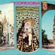 Cartoline: CORDOBA, VARIAS VISTAS - FOTOCOLOR DARVI Nº 6 - EDITADA EN 1964 - S/C. Lote 107847747