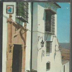 Postales: 9 - RONDA - CALLE ERMITA, REJAS TIPICAS - ED. PERGAMINO 1969 - CIRCULADA -. Lote 107964343