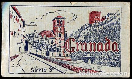 GRANADA BLOC COMPLETO CON 20 POSTALES GRAFOS SERIE 3ª (Postales - España - Andalucía Antigua (hasta 1939))