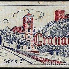 Postales: GRANADA BLOC COMPLETO CON 20 POSTALES GRAFOS SERIE 3ª. Lote 146203913