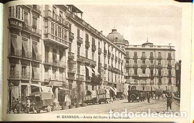 Postales: GRANADA BLOC COMPLETO CON 20 POSTALES GRAFOS SERIE 3ª - Foto 2 - 146203913