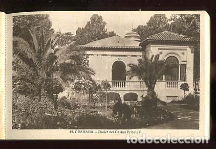 Postales: GRANADA BLOC COMPLETO CON 20 POSTALES GRAFOS SERIE 3ª - Foto 4 - 146203913