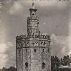 Postales: SEVILLA TORRE DEL ORO CIRCULADA EN 1955 - C-7. Lote 108311171