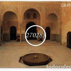 Postales: GRANADA LA ALHAMBRA PATIO MEXUAR - TRIANGLE POSTALS - SIN CIRCULAR - AÑO 1994 - 12X17 CM.. Lote 108718883