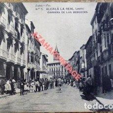 Postales: ALCALA LA REAL JAEN. LOPEZ FOT. Nº 5 CARRERA DE LAS MERCEDES. SIN CIRCULAR.. Lote 108868563