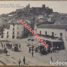 Postales: ALCALA LA REAL JAEN. LOPEZ FOT. Nº 2 SALIDA DE COCHES PARA GRANADA. SIN CIRCULAR. Lote 108868867