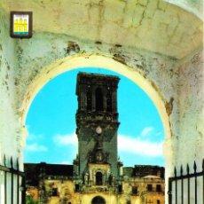 Postais: ARCOS DE LA FRONTERA (CÁDIZ) -TORRE DE LA IGLESIA PARROQUIAL DE SANTA MARÍA- SIN CIRCULAR / P-1772. Lote 109156095