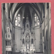 Postales: CADIZ-CHIPIONA, N1 INTERIOR SANTUARIO, CIRCULADA 1963 SIN SELLO,ED. MALET CADIZ, VER FOTOS. Lote 109203027