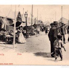 Postales: SEVILLA.- FERIA. - ED.STENGEL&CO. DRESDE. Lote 109565191