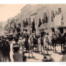 Postales: SEVILLA-12. GRUPO DE HERMANOS DE LA HERMANDAD DEL ROCIO,COL. BARREIRO SEVILLA. Lote 109630391
