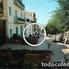 Postales: POZO ALCON (JAEN) AVENIDA DE LA BOLERA - SAN ANTONIO - SIN CIRCULAR - AÑO 1988. Lote 110222655