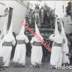 Postales: SEMANA SANTA DE SEVILLA, AÑOS 20,EL MISTERIO DE LA HERMANDAD DE LA AMARGURA POR TORREJON, SERRANO. Lote 110227495