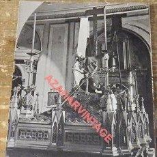 Postales: SEMANA SANTA SEVILLA-ALEGORIA DE LA MUERTE-CLICHE ALMELA Nº 35. Lote 110228035