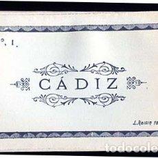 Postales: CADIZ BLOC DESPLEGABLE COMPLETO CON 10 POSTALES FOTOGRÁFICAS. L. ROISIN, FOTO Nº 1. Lote 110404279