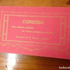Postales: ANTIGUO BLOC 36 POSTALES DE CORDOBA R. GARZON. Lote 111586499
