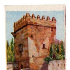 Postales: GRANADA .- TORRE DE LOS PICOS. - LIT. ANEL GRANADA. Lote 111735411