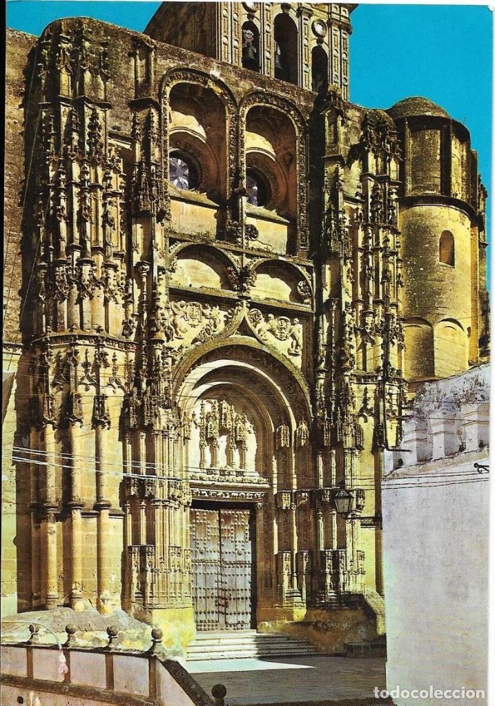 == PJ382 - POSTAL - ARCOS DE LA FRONTERA - PARROQUIA DE SANTA MARIA - FACHADA PRINCIPAL (Postales - España - Andalucia Moderna (desde 1.940))