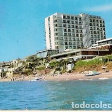Postales: ESPAÑA & CIRCULADO, BENALMADENA, HOTEL RIVIERA, MALAGA, LISBOA 1972 (9). Lote 112436899