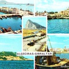 Postales: ALGECIRAS - GIBRALTAR (CÁDIZ) - SIN CIRCULAR / P-2250. Lote 112532095
