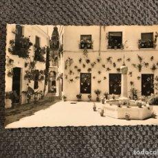Postales: CORDOBA/POSTAL NO.225. PLAZUELA Y CALLEJA DE LAS FLORES (H.1940?). Lote 112674099