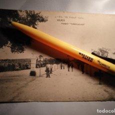 Postales: ANTIGUA POSTAL : PASEO CANALEJAS VEJER DE LA FRONTERA - CADIZ - VEJER. ED FOT EL TREBOL Nº 5. Lote 112775119